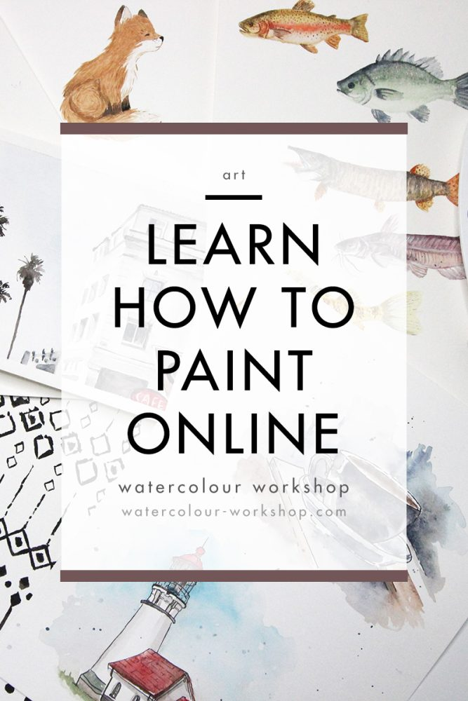 Online Watercolour Workshop