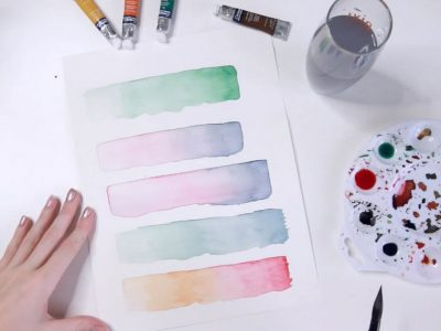 Watercolour Workshop – Learn how to paint with watercolours!